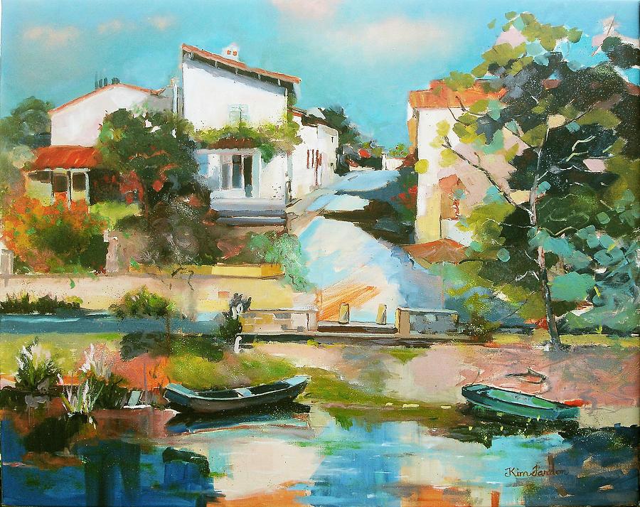 Rue Du Roc Painting