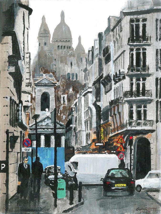 Rue Lafitte by John Garfitt