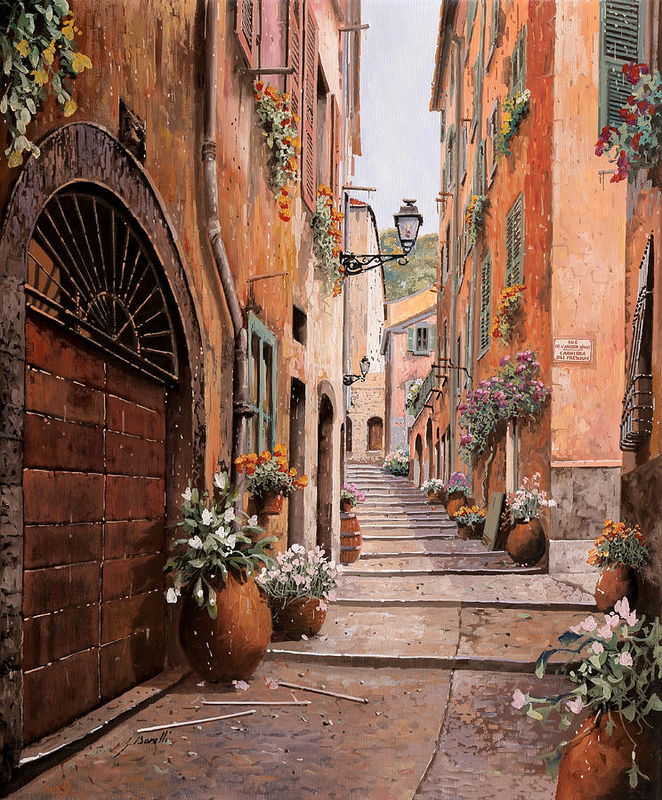 rue Malonat in  Nice Painting