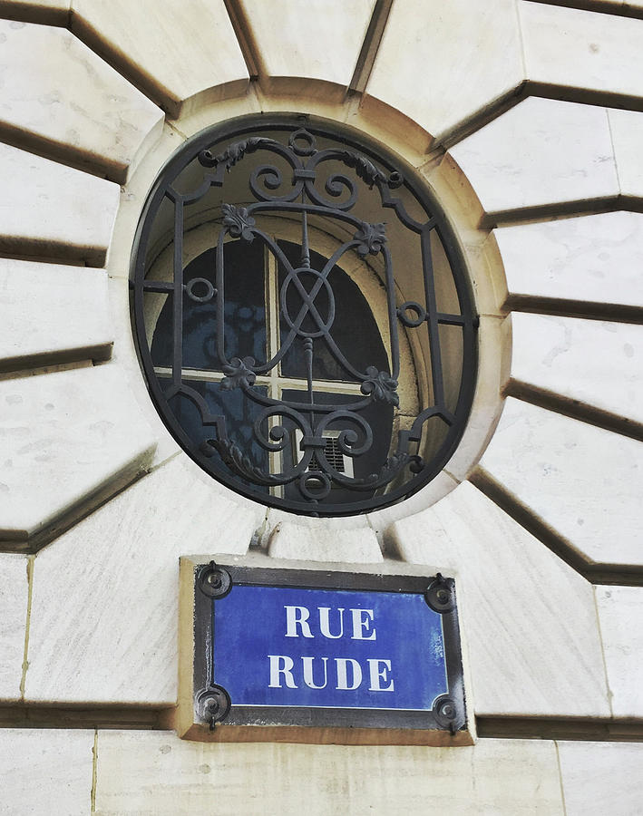 Rue Rude, Paris by Frank DiMarco