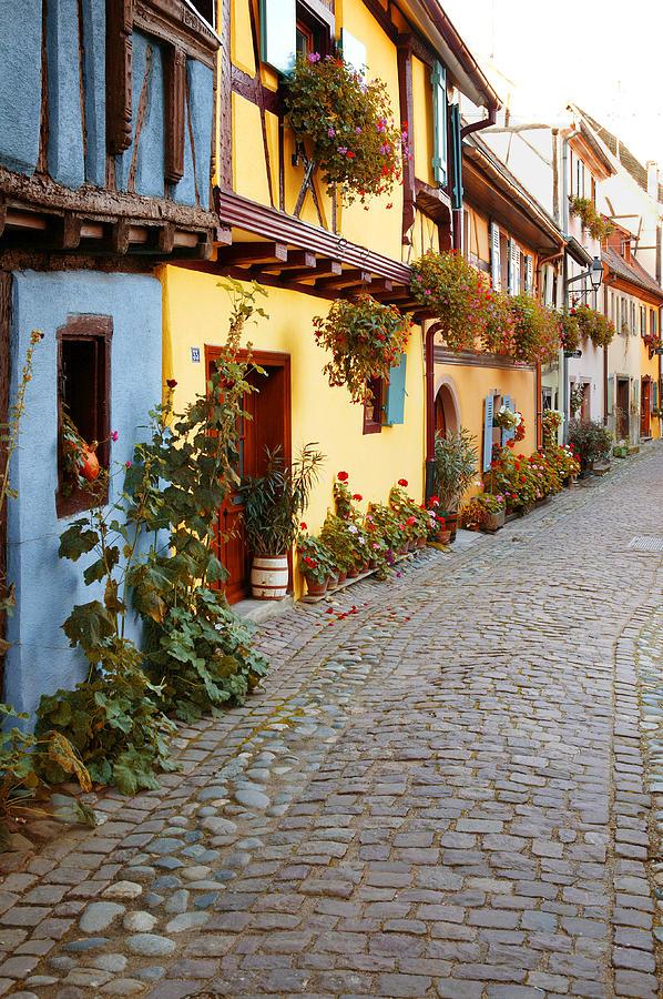 Alsace Photograph - Ruelle by John Galbo