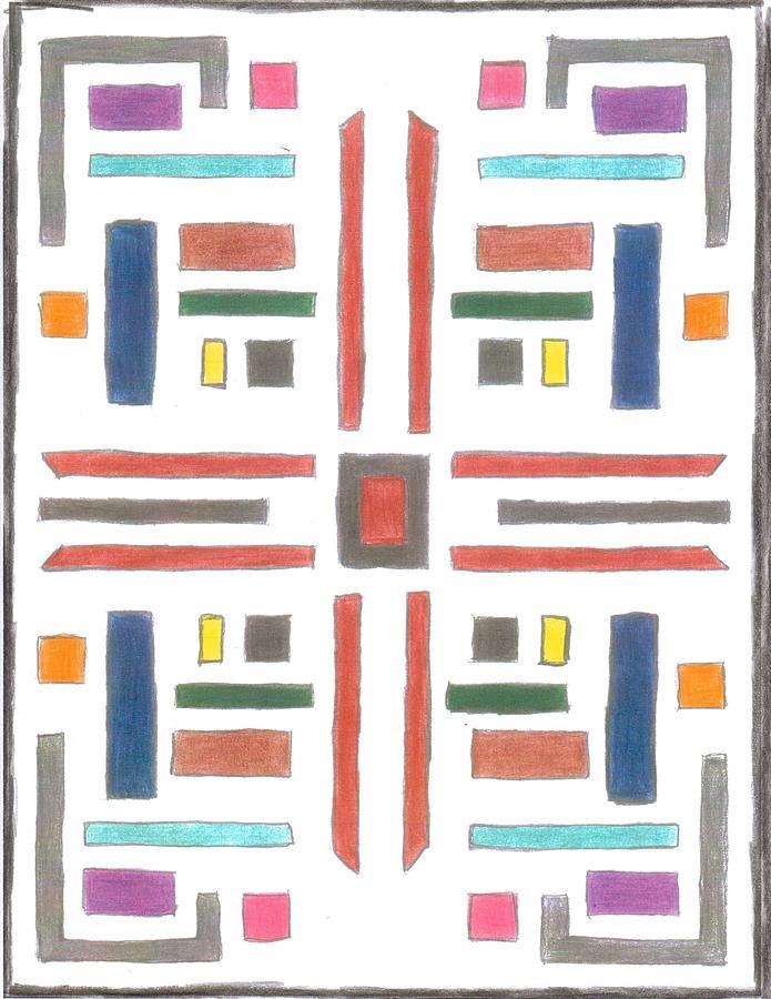 Rug #1 by Alan Chandler