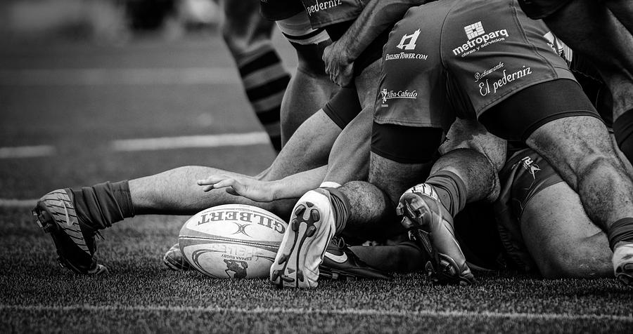 Rugby Photograph - Rugby by Cesar March