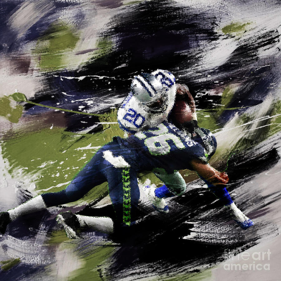 Russell Wilson Painting - Rugby by Gull G