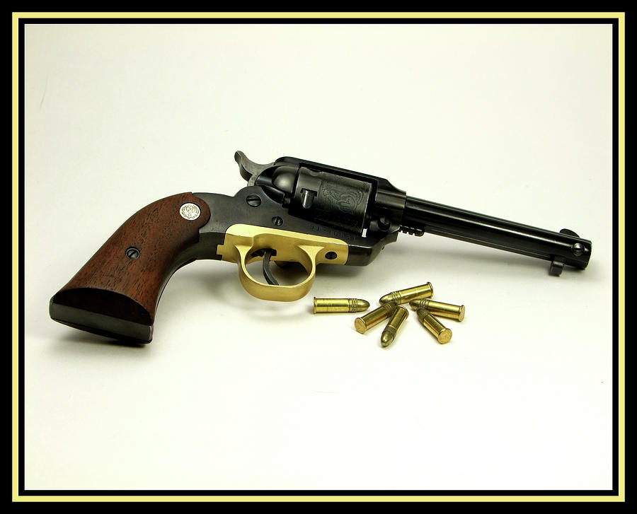Pistol Photograph - Ruger Bearcat by Ron Roberts