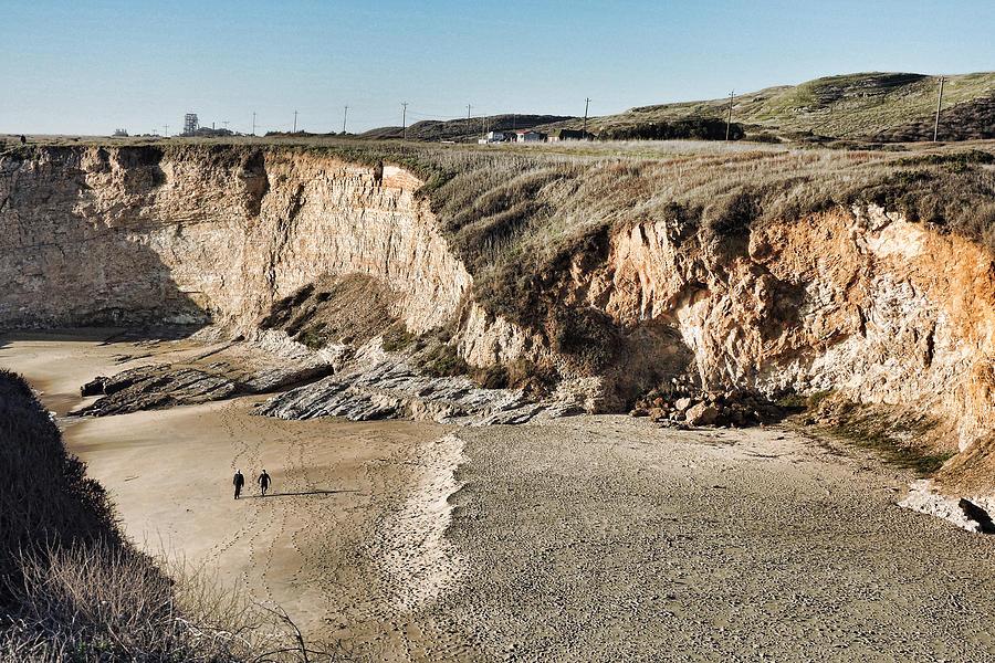 Rugged Coastline Photograph
