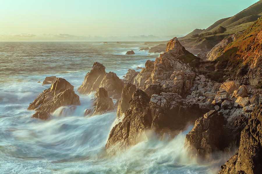 Rugged Coastline Photograph