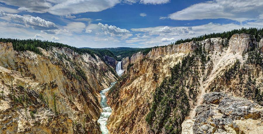 Yellowstone Photograph - Rugged Lower Yellowstone by John Kelly
