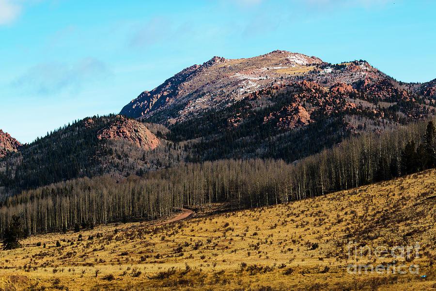 Rugged Southwest Pikes Peak Photograph
