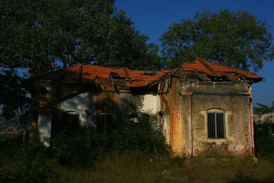 Ruins Photograph - Ruined House by Deepak Pawar
