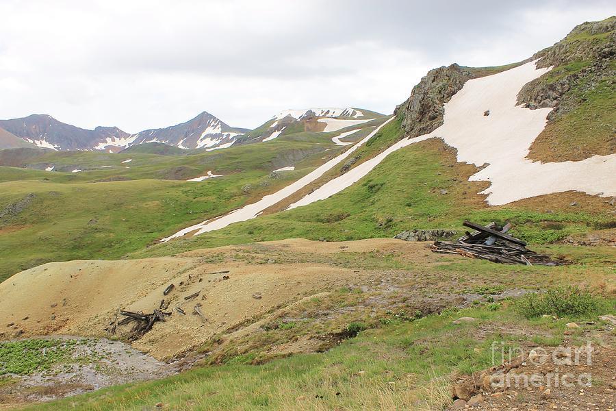 Ruins At Altitude Photograph