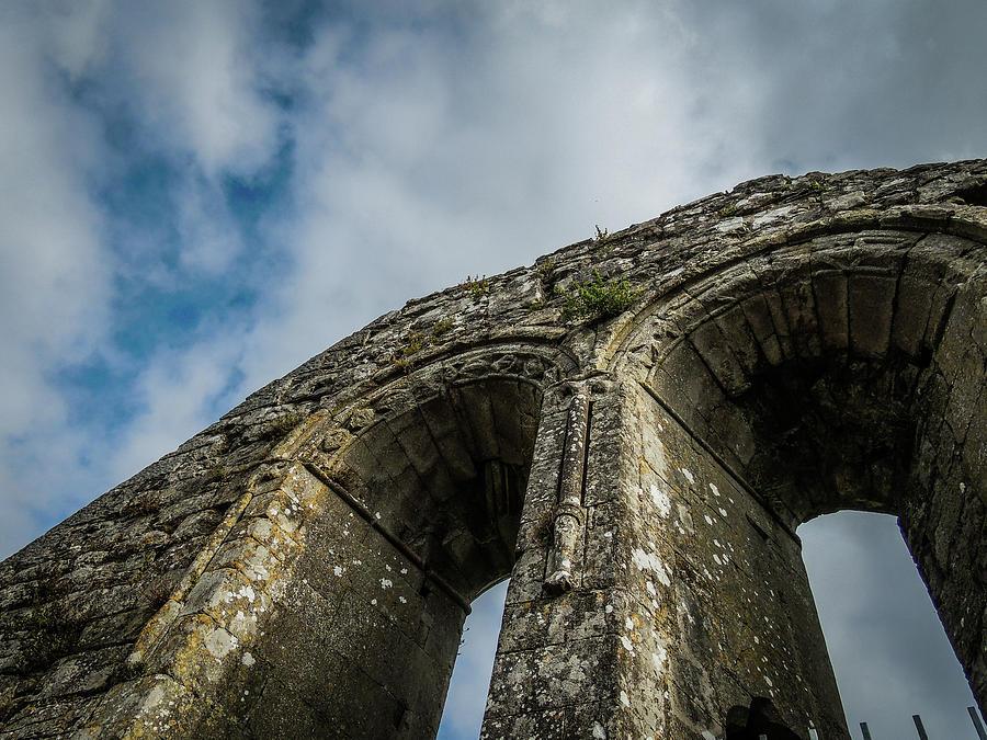 12th Century Photograph - Ruins Of 12th Century Abbey by James Truett