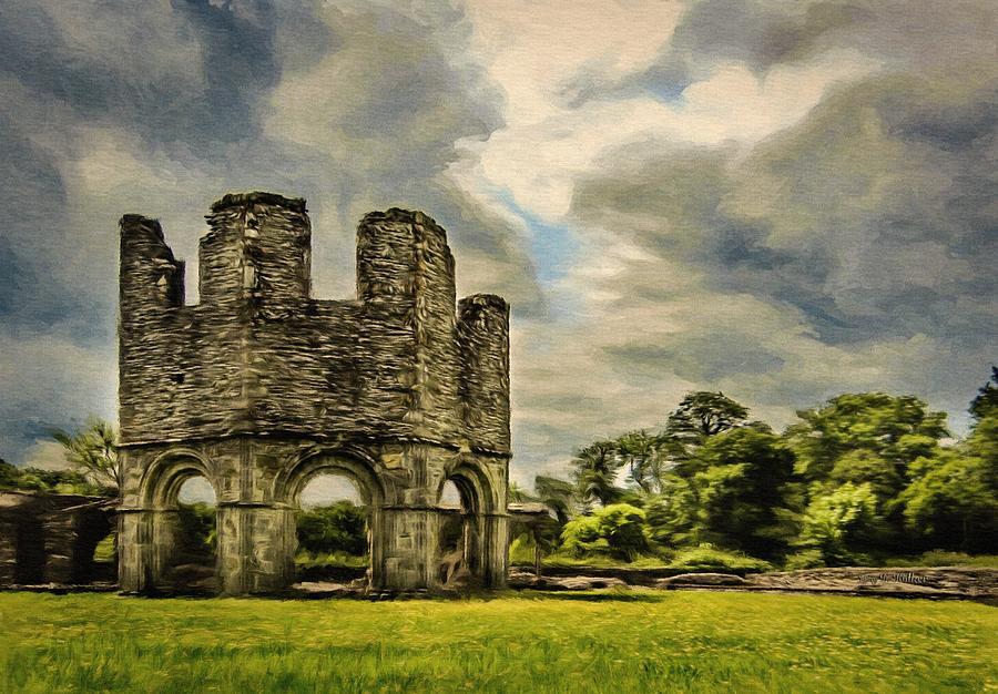 Ruins of Mellifont Abbey by Jeffrey Kolker