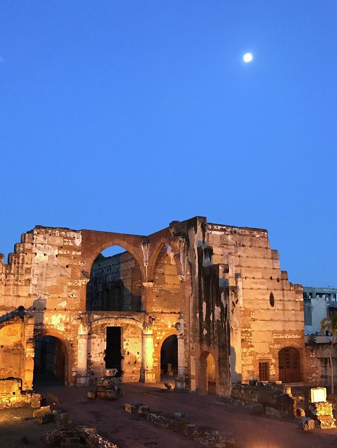 Ruins Of San Nicolas De Bari Hospital Photograph
