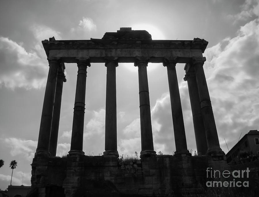 Ruins Of The Roman Forum by Julian Bowdern