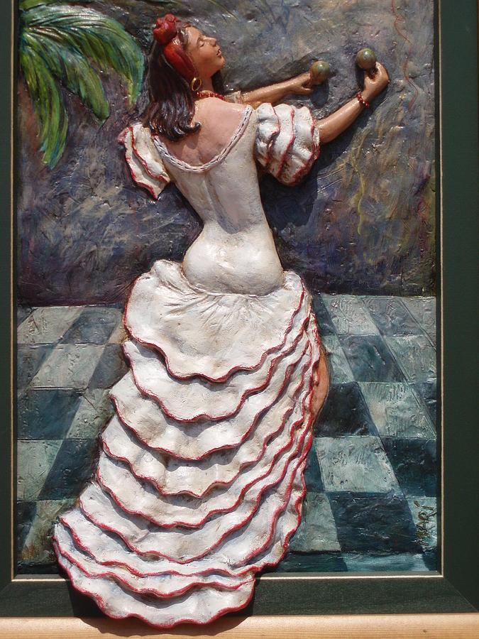 Dancer Sculpture - Rumbera by MARI Sanchez