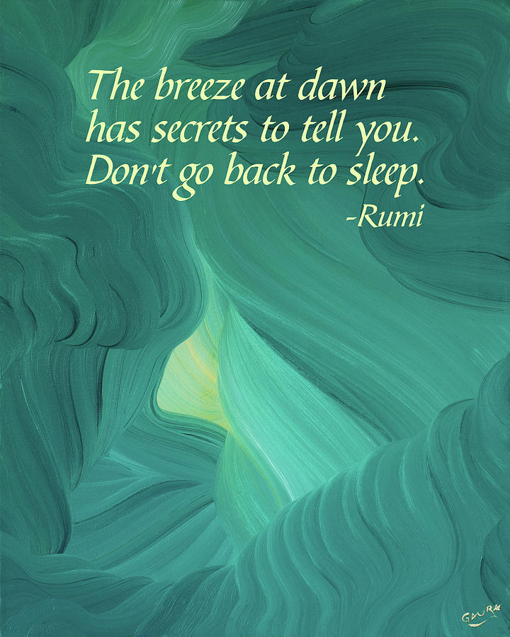 Rumis Breeze At Dawn Painting