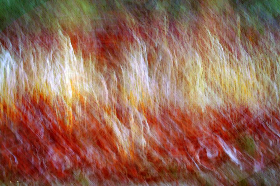 Digital Painting Digital Art - Run Like Hell by Linda Sannuti