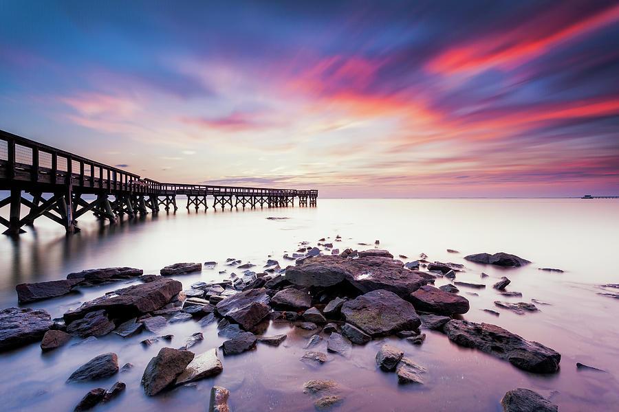 Pinehurst Photograph - Run To The Sun by Edward Kreis