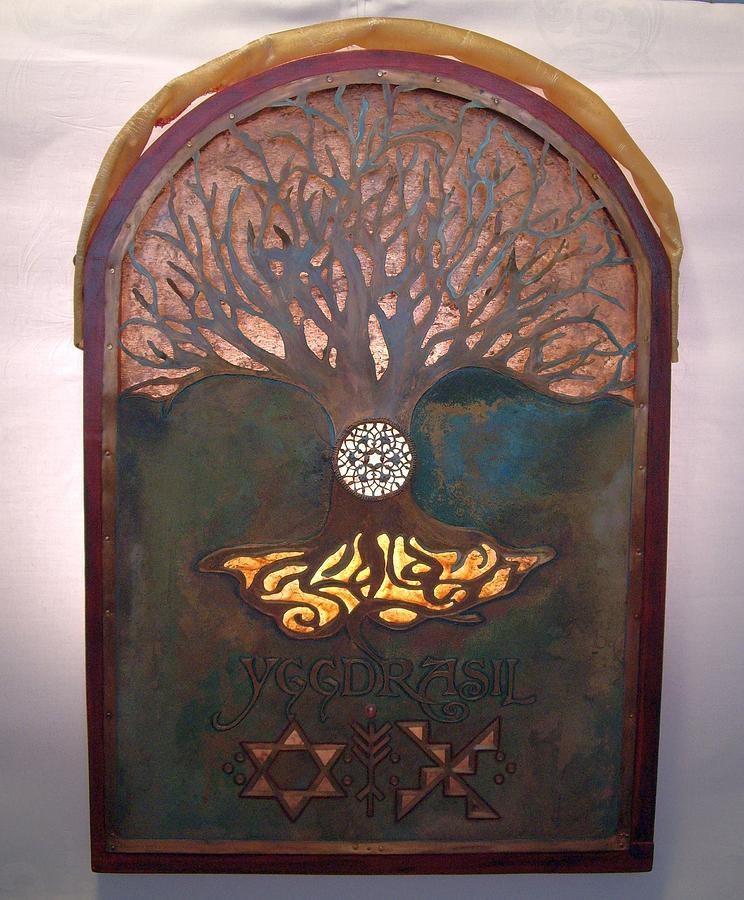 Runes for Restoration illuminated by Shahna Lax
