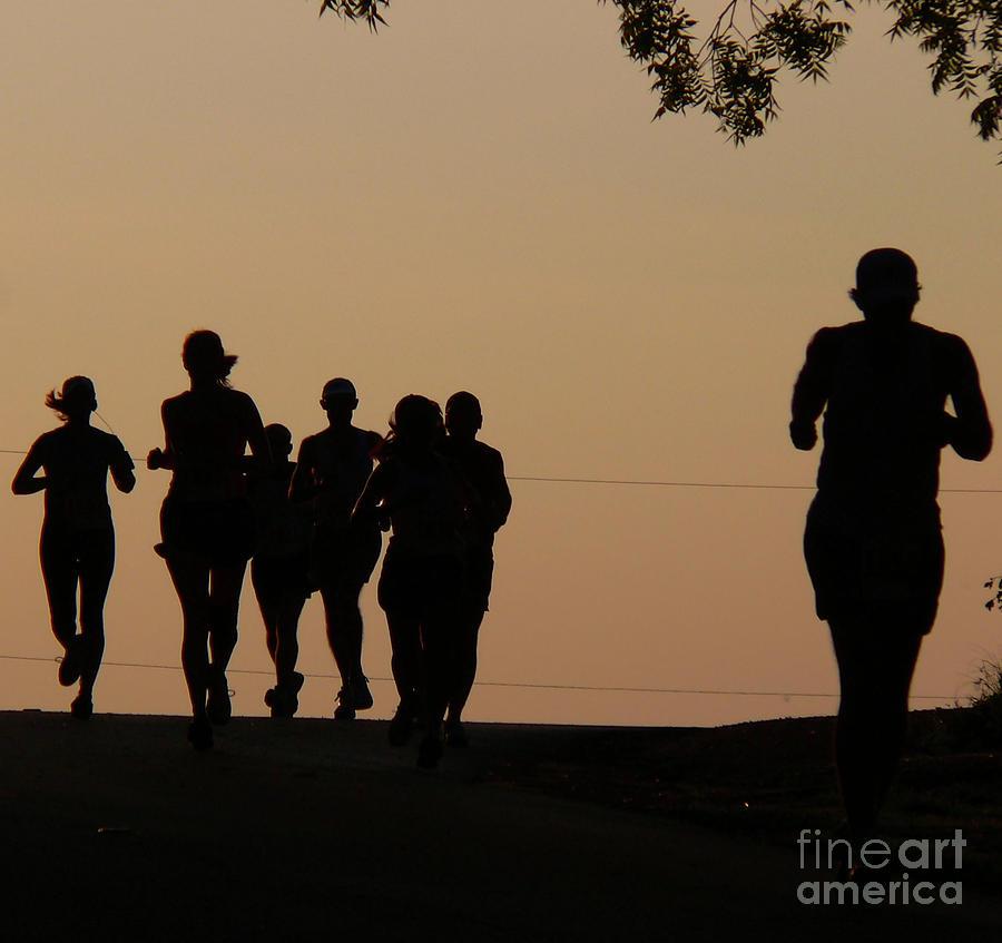 Running Photograph - Running by Angela Wright