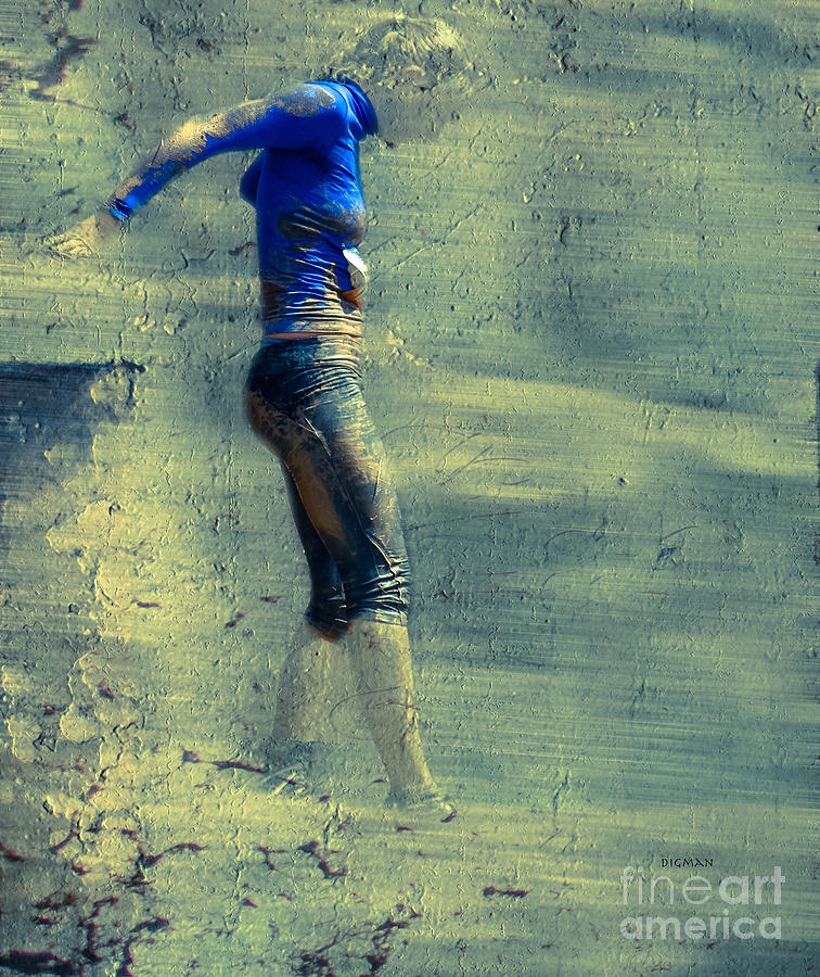Beauty Photograph - Running Blues  by Steven Digman