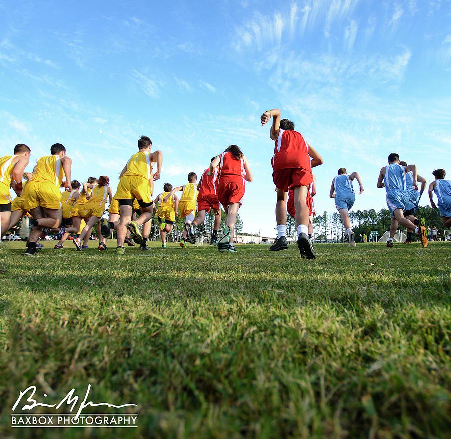 Running Photograph by Brian Jones