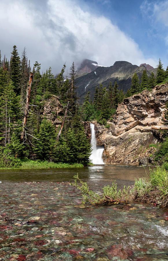 Running Eagle Falls by Harold Coleman