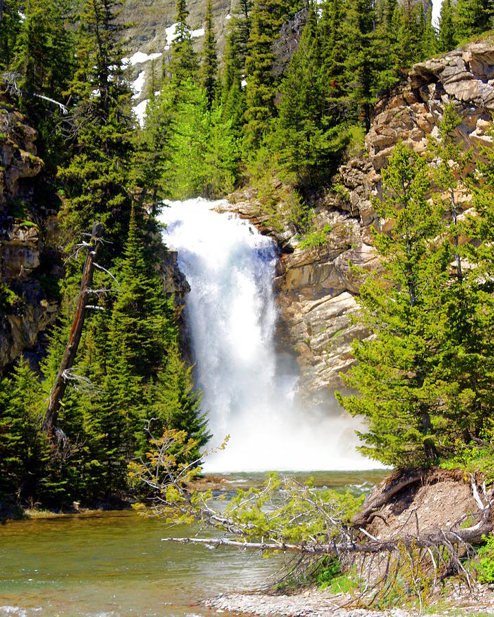 Waterfalls Photograph - Running Eagle Falls by Marty Koch