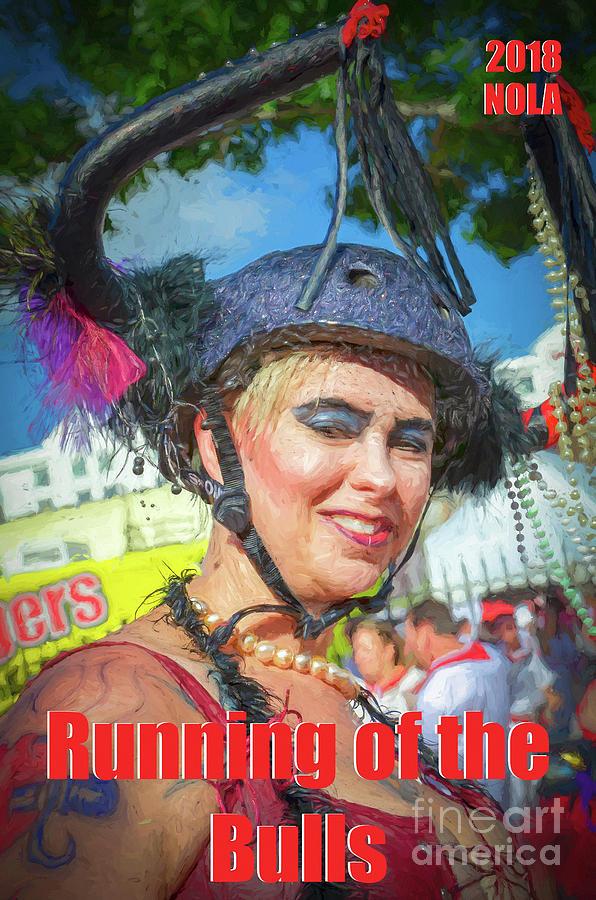 Running Of Bulls Nola 2018- Poster Photograph