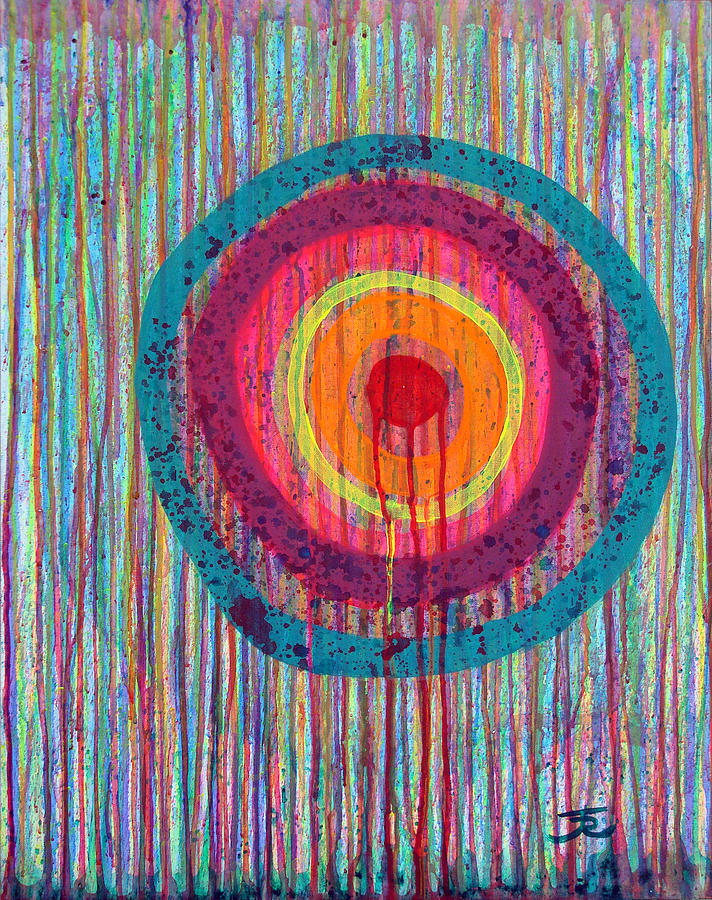 Target Painting - Running Target by Tommy Reynolds