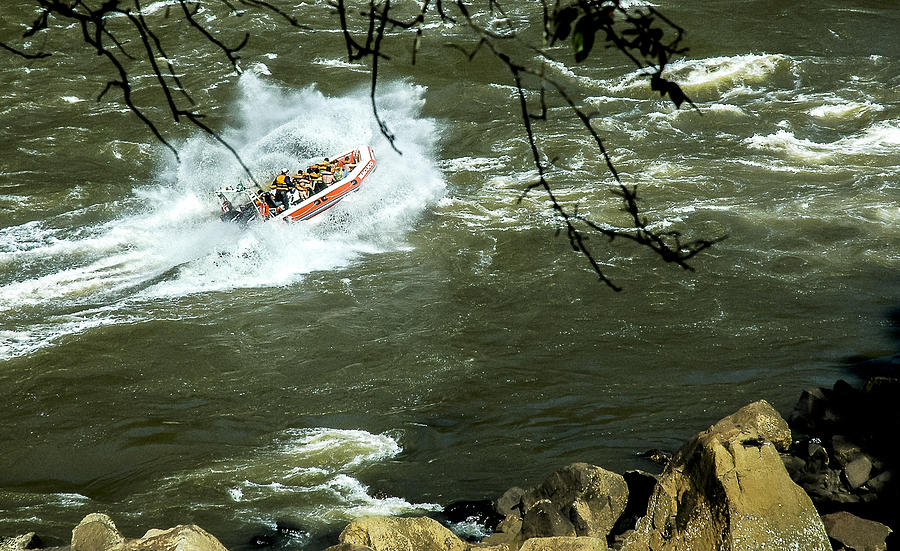 Landscape Photograph - Running The Rapids by Norman Johnson