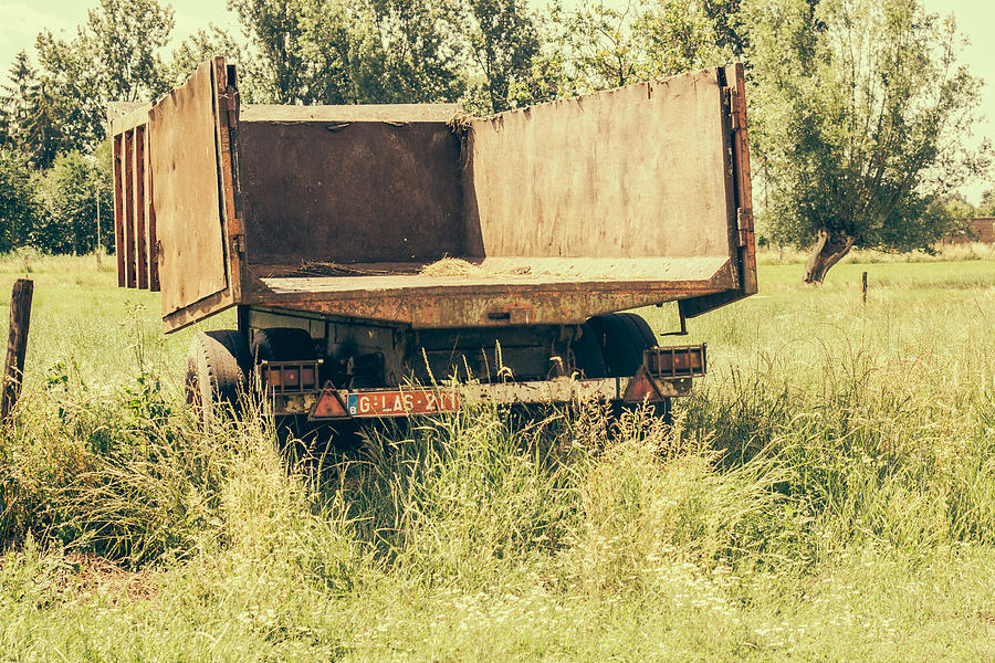 Trailer Photograph - Rural Atmosphere by Pati Photography