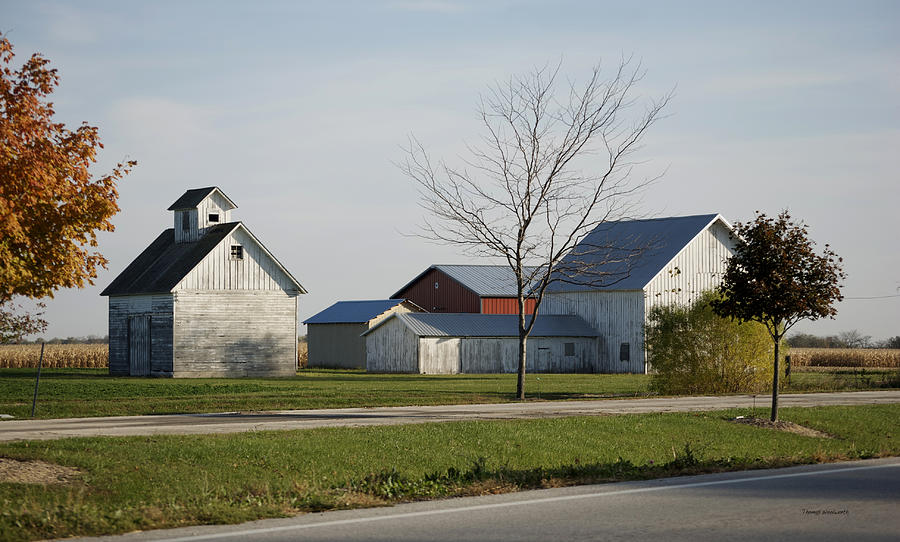 Photograph Photograph - Rural Farm Central Il by Thomas Woolworth