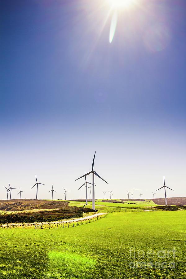 Sky Photograph - Rural Power by Jorgo Photography - Wall Art Gallery