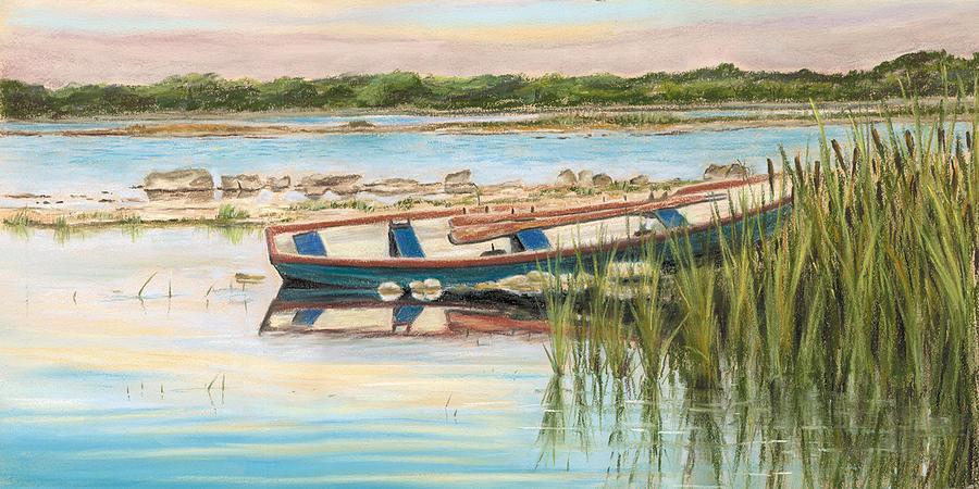 Mayfly Painting - Rush Hour by Vanda Luddy