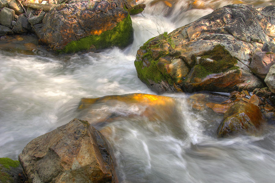 Rushing Water 1 Photograph by Douglas Pulsipher