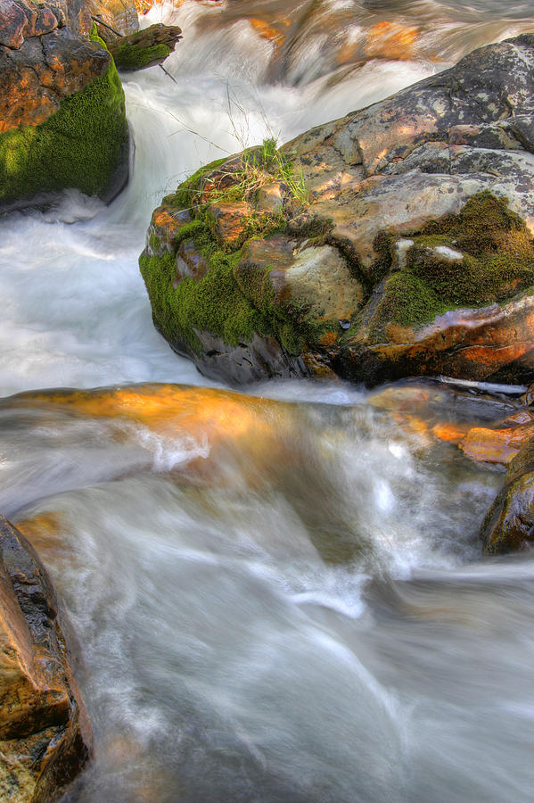 Rushing Water 2 Photograph by Douglas Pulsipher