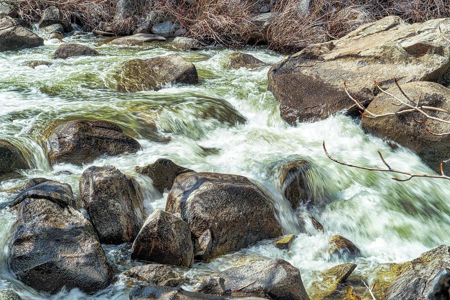 Rushing Water Photograph