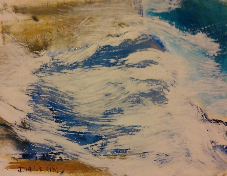 Painting - Rushing Waters by Gregory Dallum