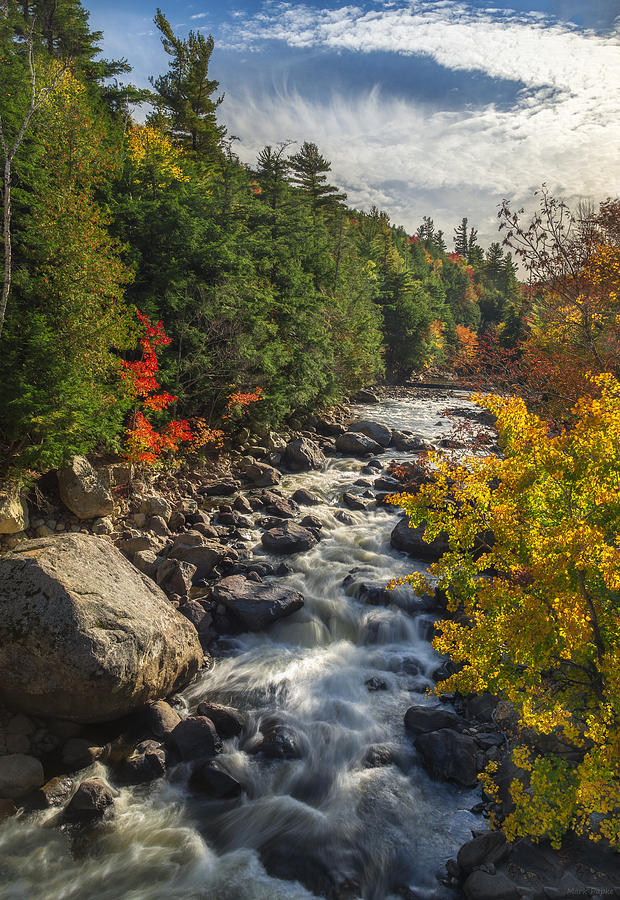 River Photograph - Rushing Waters by Mark Papke