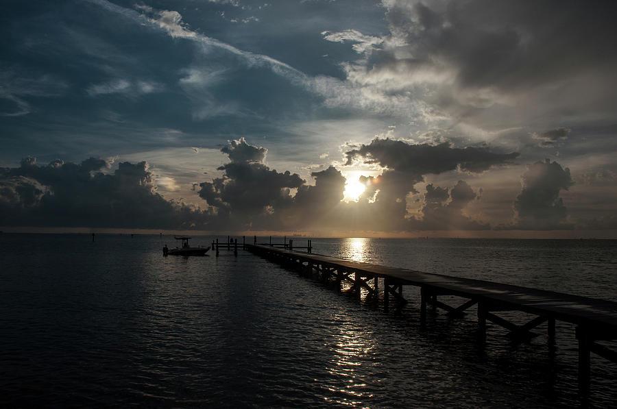 Sunset Photograph - Ruskin Respite by Norman Johnson