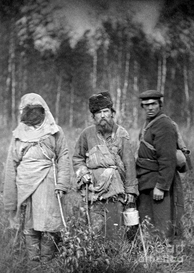 1885 Photograph - Russia: Convicts, C1885 by Granger