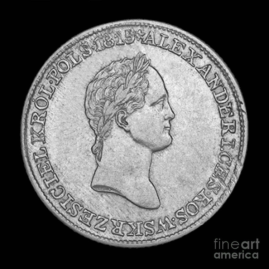 Royal Photograph - Russian Coin by Jost Houk