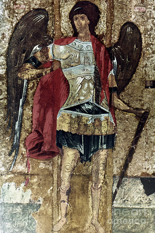 15th Century Photograph - Russian Icons: Michael by Granger