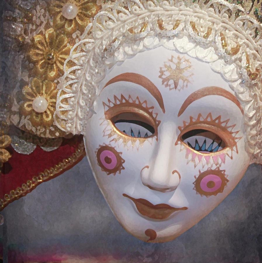 Russian Mask 4 Digital Art by Jeff Burgess