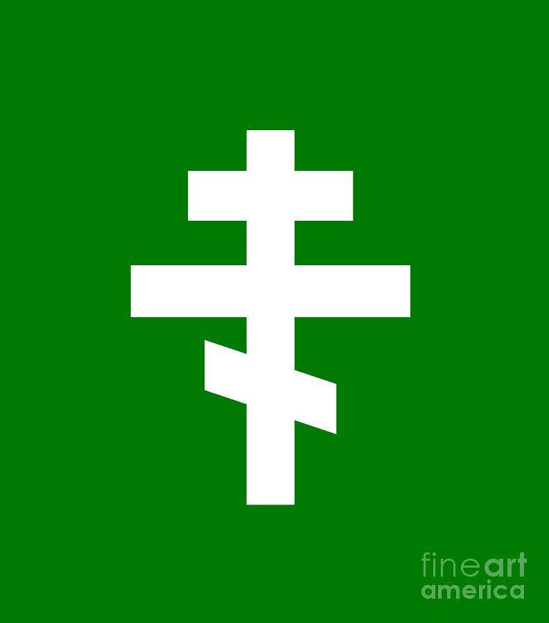 Russian Orthodox Symbol Digital Art By Frederick Holiday