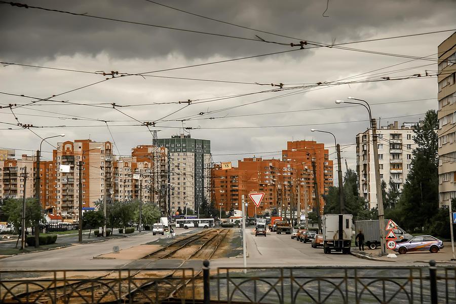 Russia Photograph - Russian Urban Life by KG Thienemann
