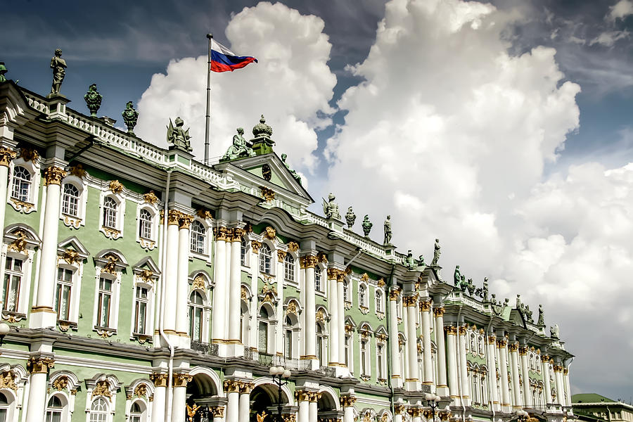 Russian Winter Palace by KG Thienemann