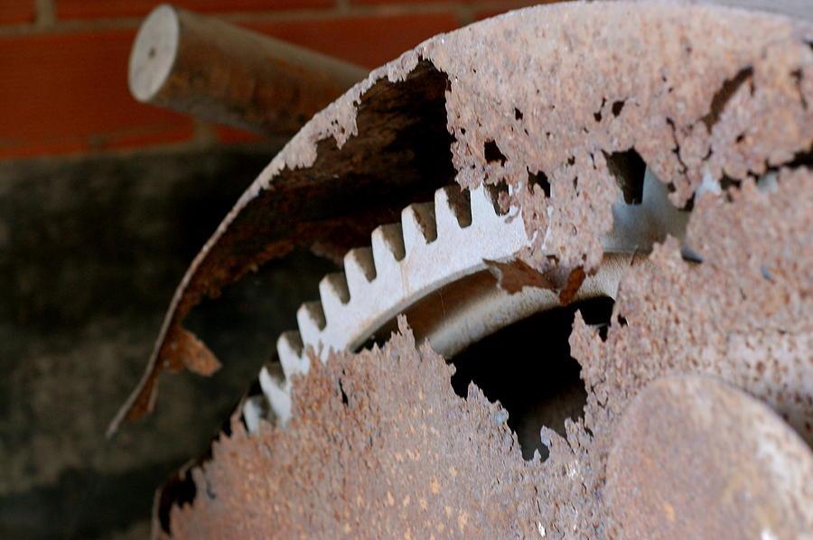 Rust Photograph - Rust 3 by Tess Haun